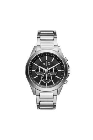 horloge Drexler AX2600 zilverkleur
