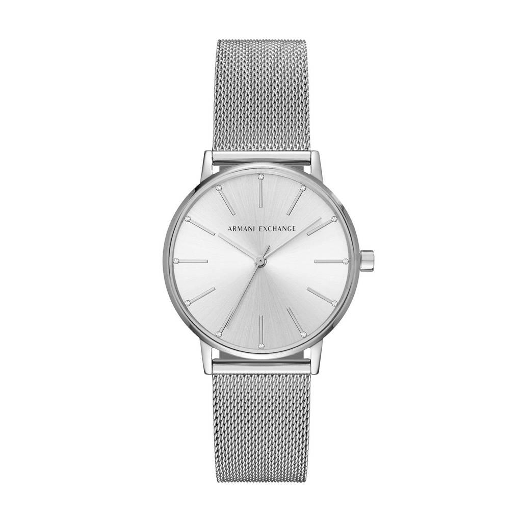 Armani Exchange Lola Dames Horloge AX5535, Zilver