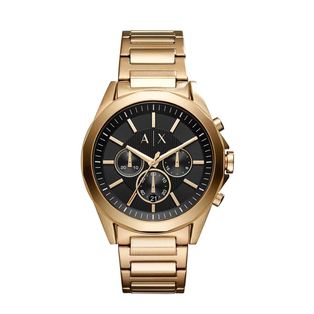 Armani Exchange chronograaf AX2611, Goud/zwart