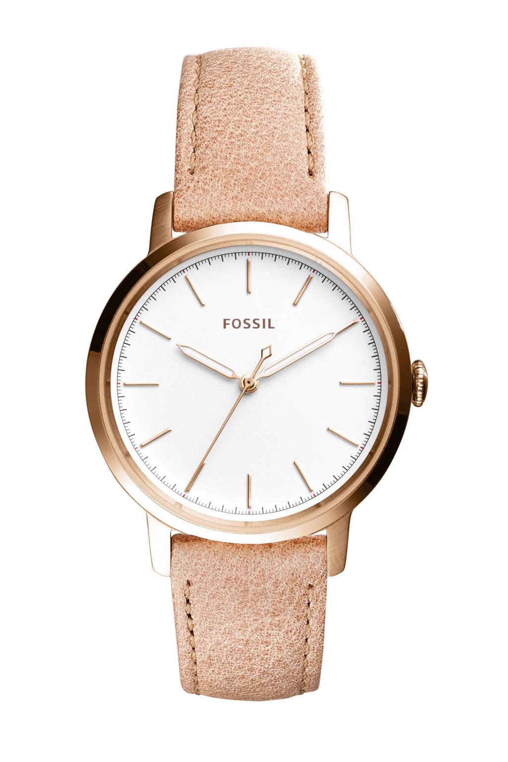 Fossil horloge ES4185, roségoud
