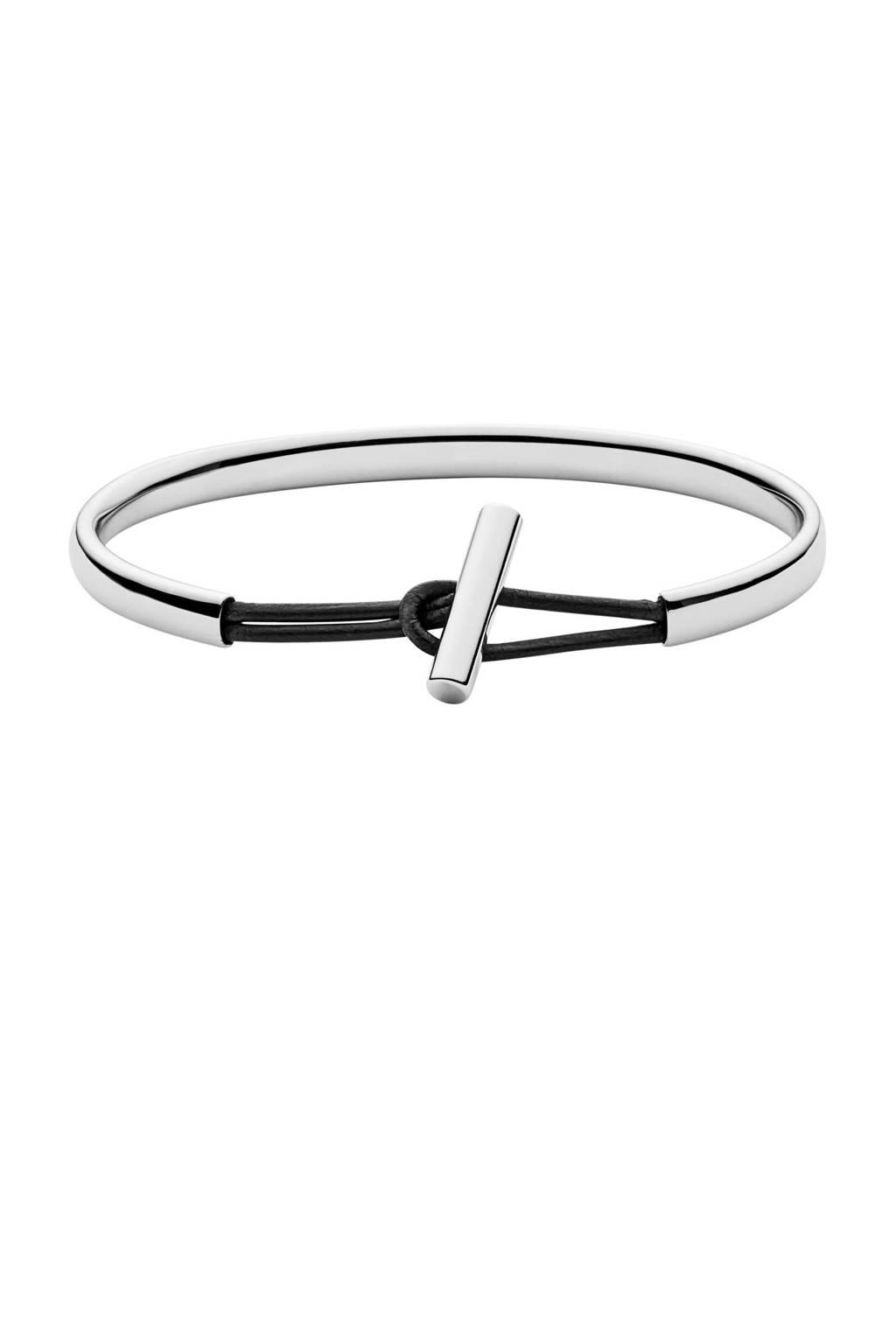 Skagen armband SKJ0982040, Zilver/zwart