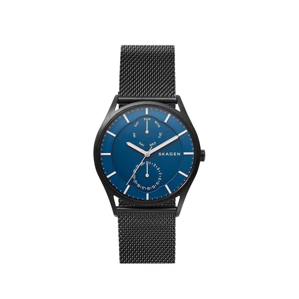 Skagen horloge SKW6450, Zwart/blauw