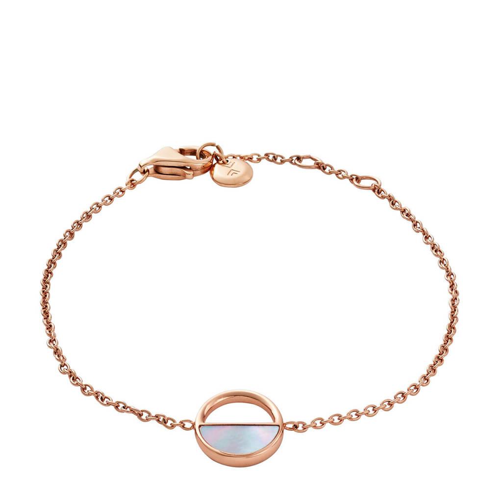 Skagen armband SKJ0999791, Roségoud/zilver