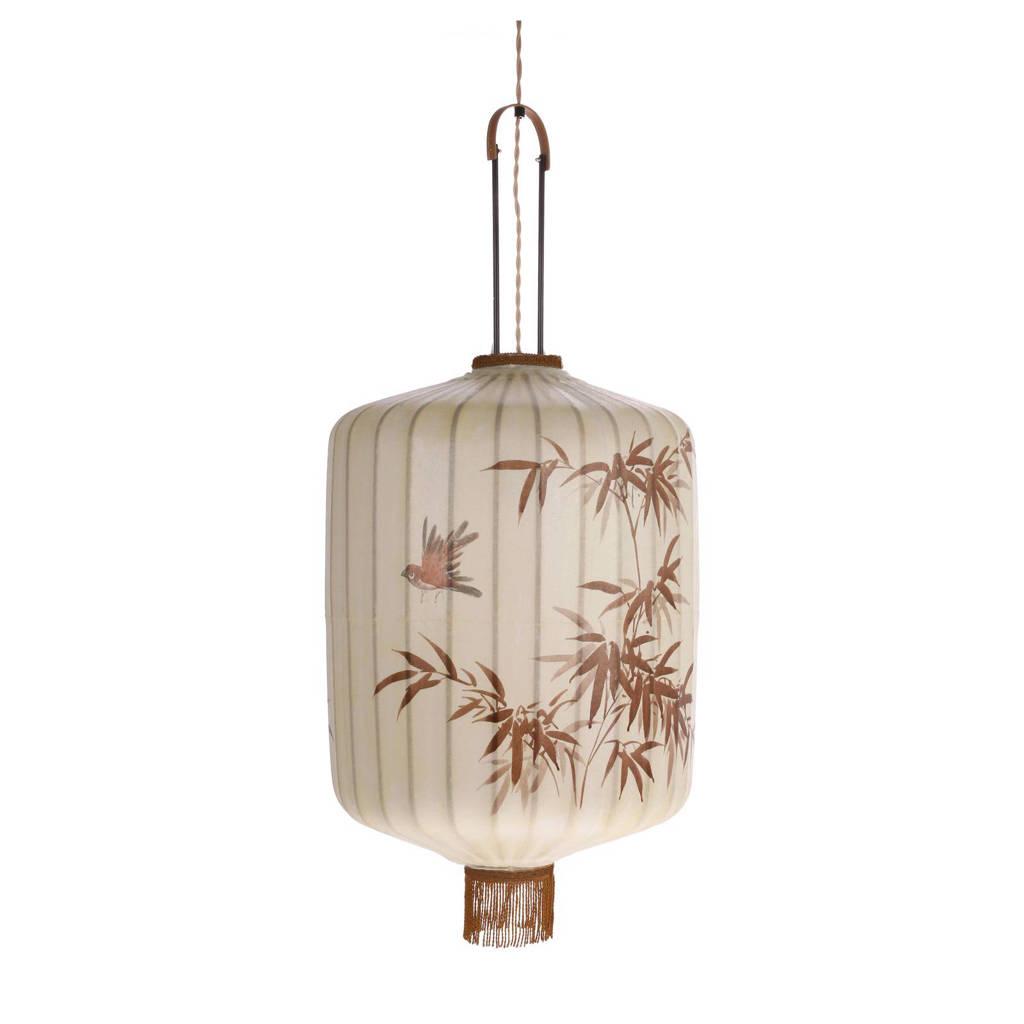 HKliving hanglamp XL, Creme/rood