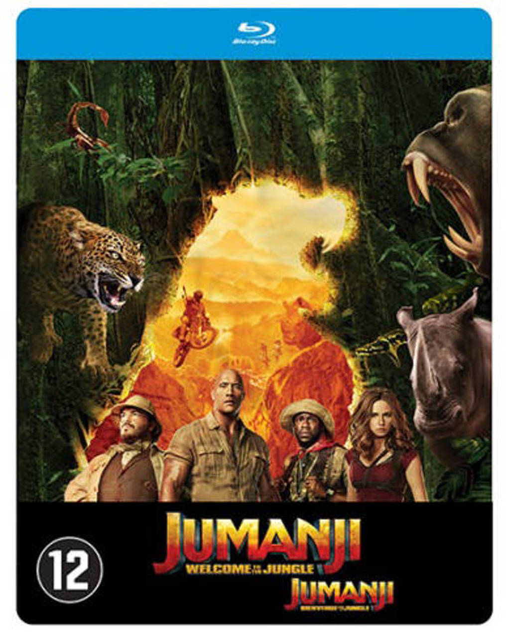 Jumanji - Welcome to the jungle (Steelbook) (Blu-ray)