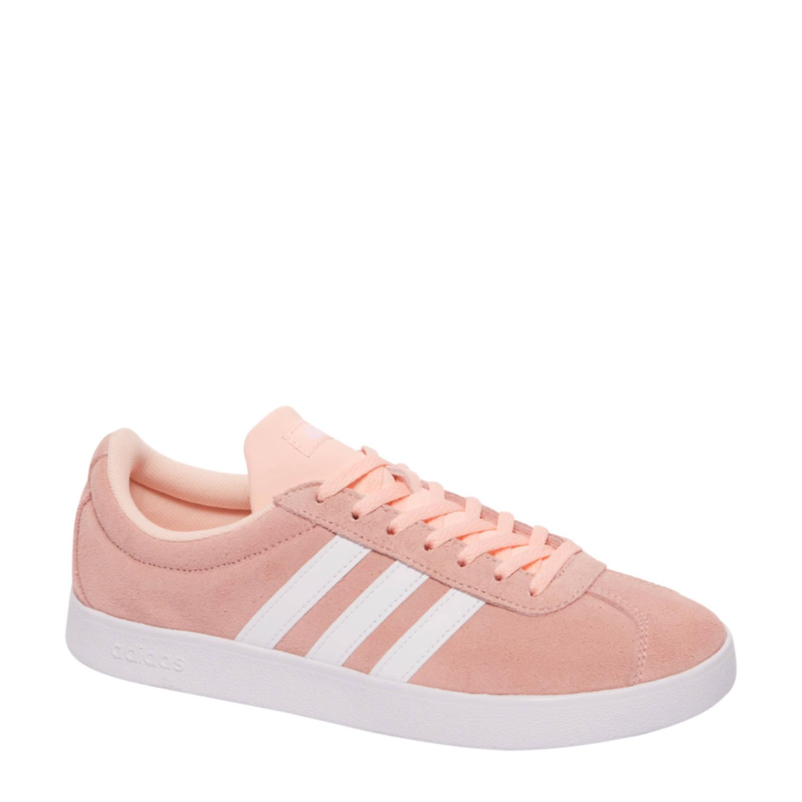 adidas VL Court 2.0 W suède sneakers | wehkamp