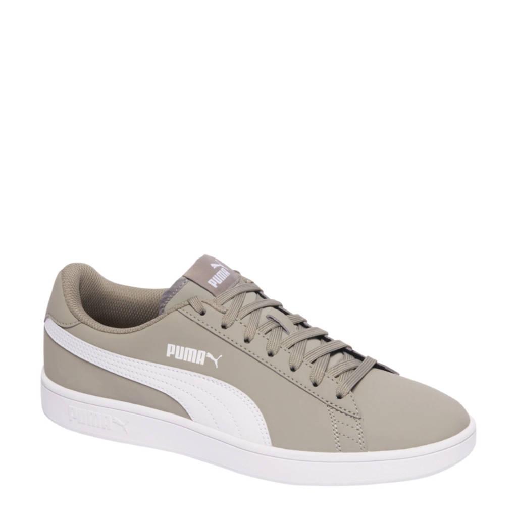 Puma   Smash V2 Buck sneakers, Beige/wit