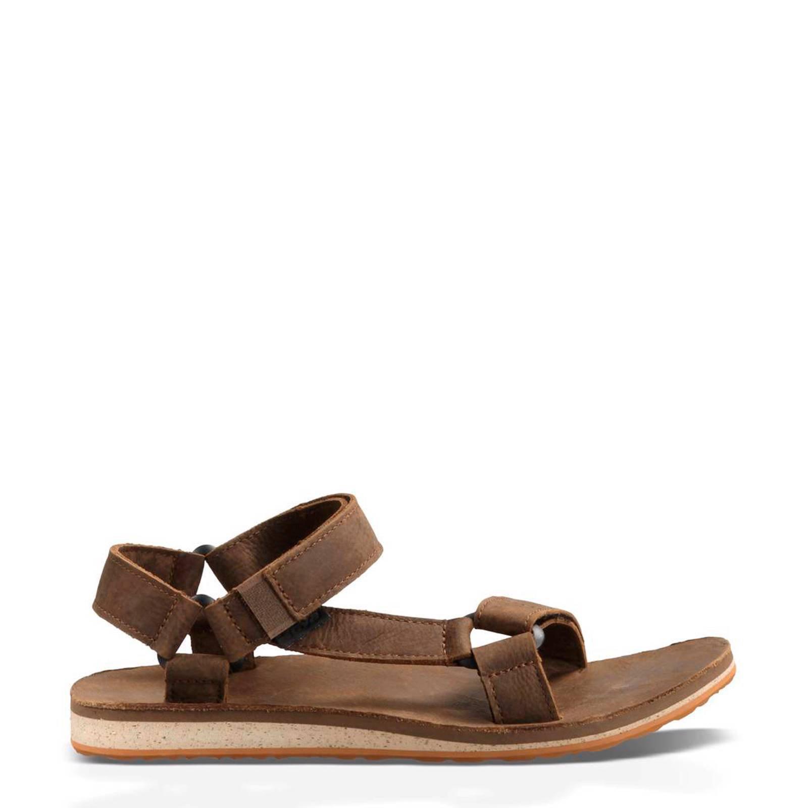 Teva Original leren outdoor sandalen bruin | wehkamp