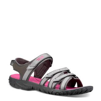 Tirra outdoor sandalen grijs/roze