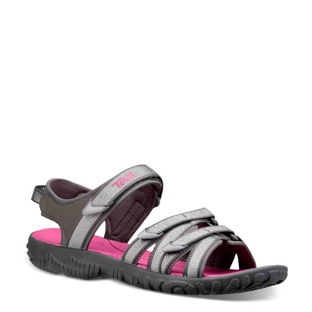 Teva Tirra outdoor sandalen grijs/roze, Silver Magenta