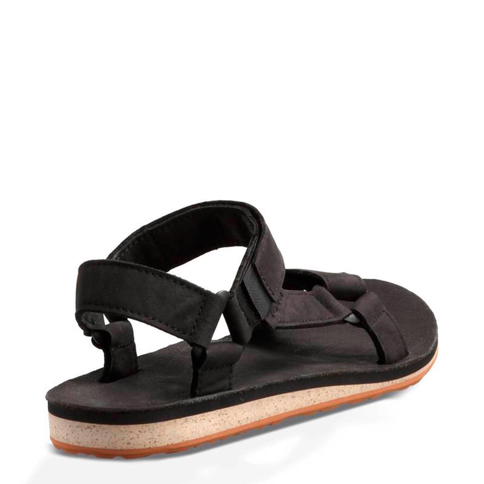 Original leren outdoor sandalen zwart