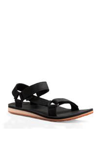 Teva Original leren outdoor sandalen zwart (heren)