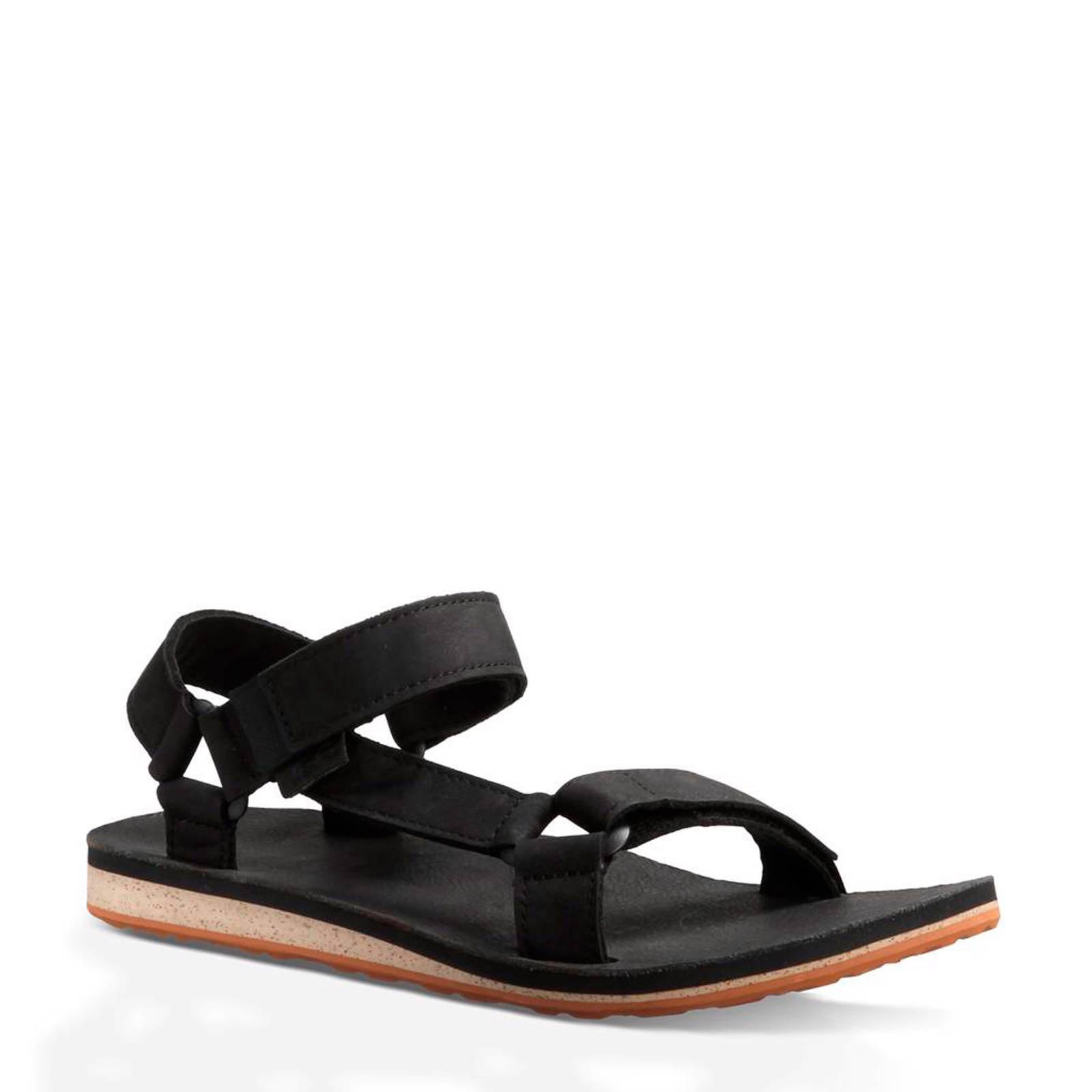 Teva Original leren outdoor sandalen zwart | wehkamp