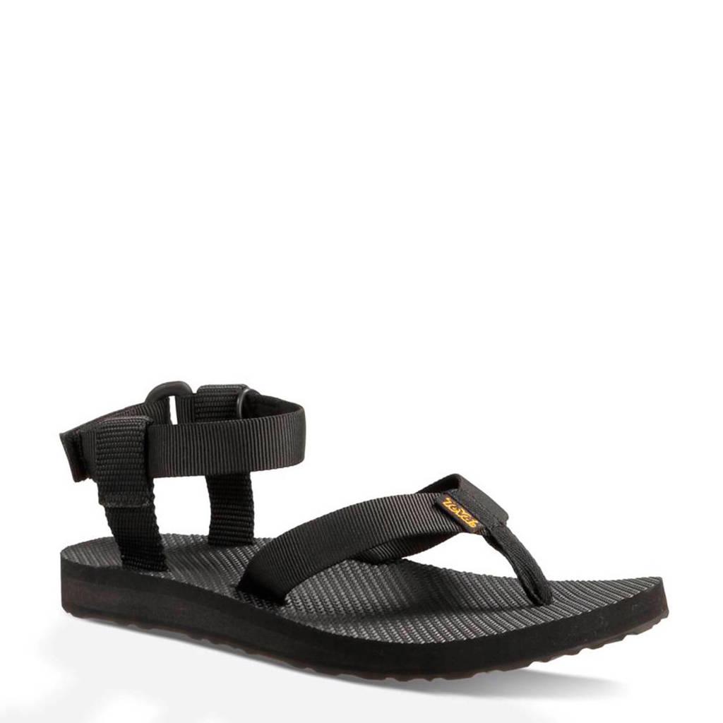 Teva Original outdoor sandalen, Zwart