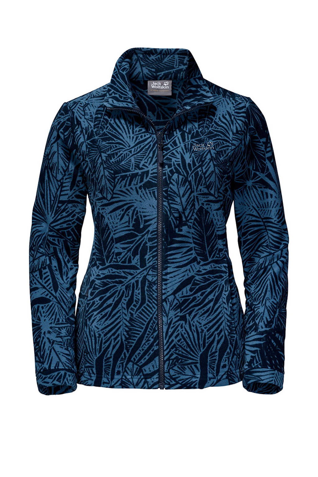 Jack Wolfskin Kiruna Jungle fleecejack, Blauw