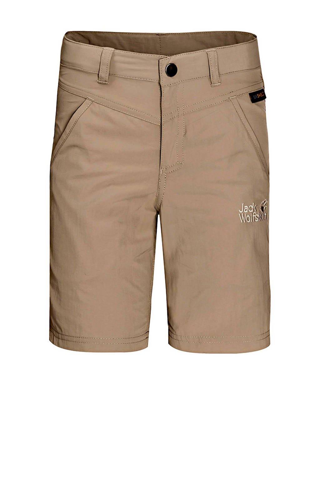 Jack Wolfskin jongens Sun Shorts outdoor korte broek, Beige