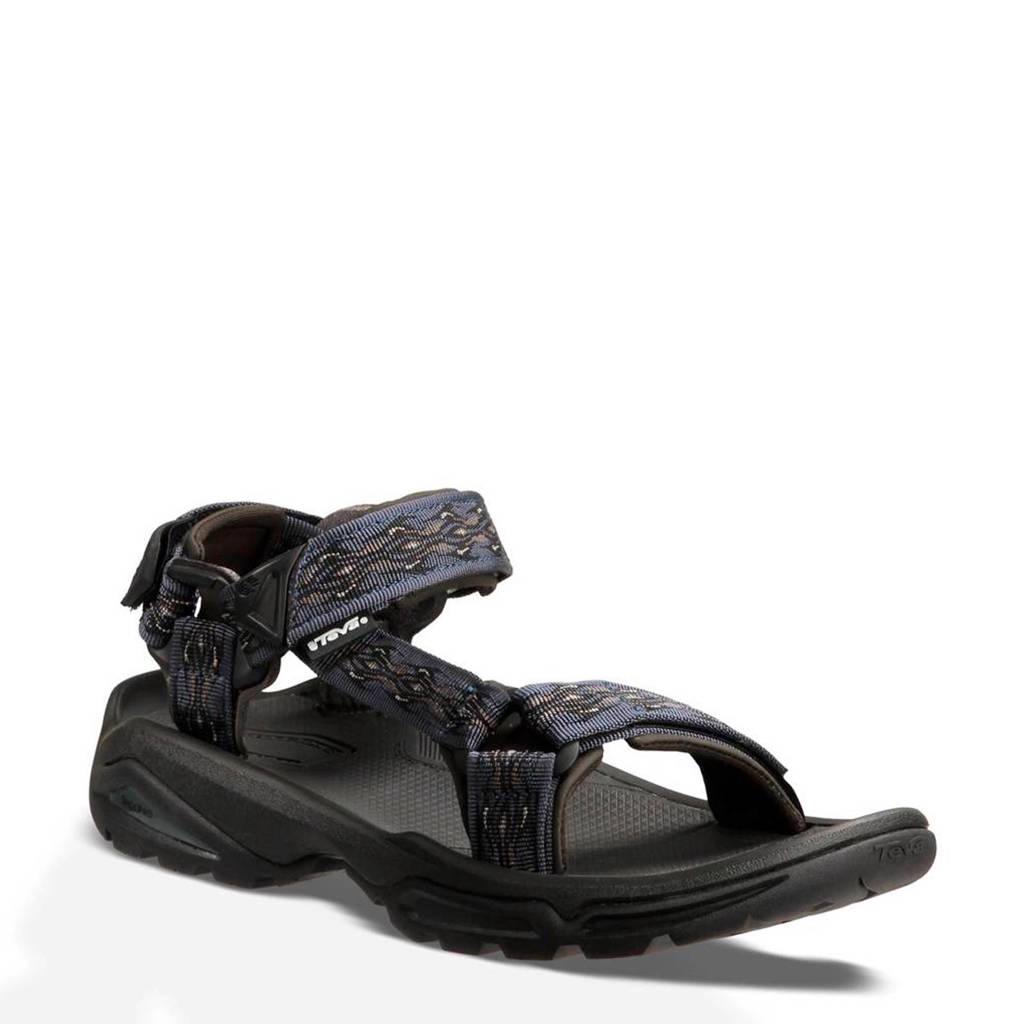Teva   Terra Fi 4 outdoor sandalen, Blauw