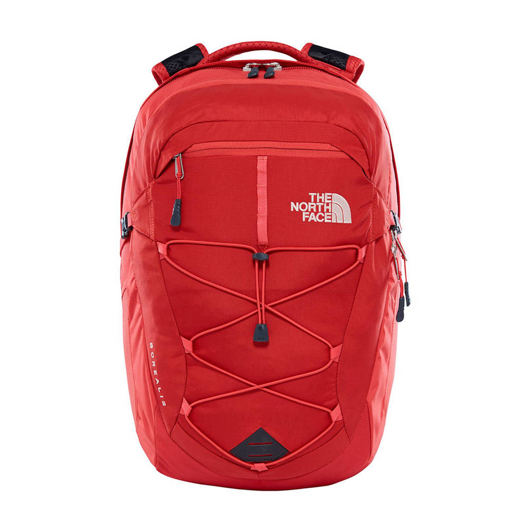 The North Face  Borealis 28 liter dagrugzak, Rood