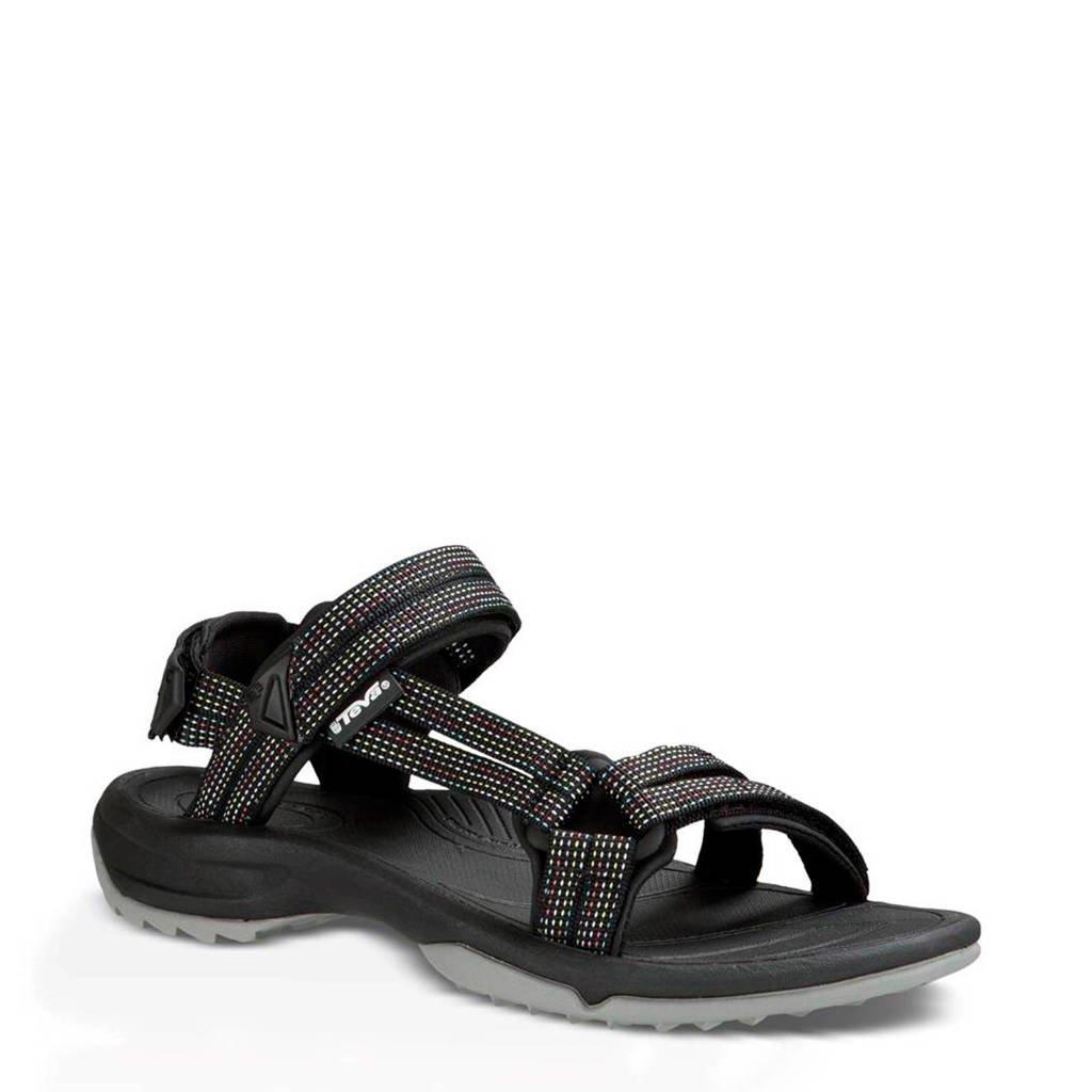 Teva Terra Fi outdoor sandalen, Zwart