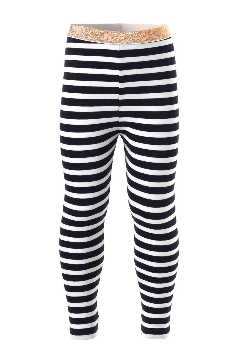 Noppies legging, Donkerblauw / Wit
