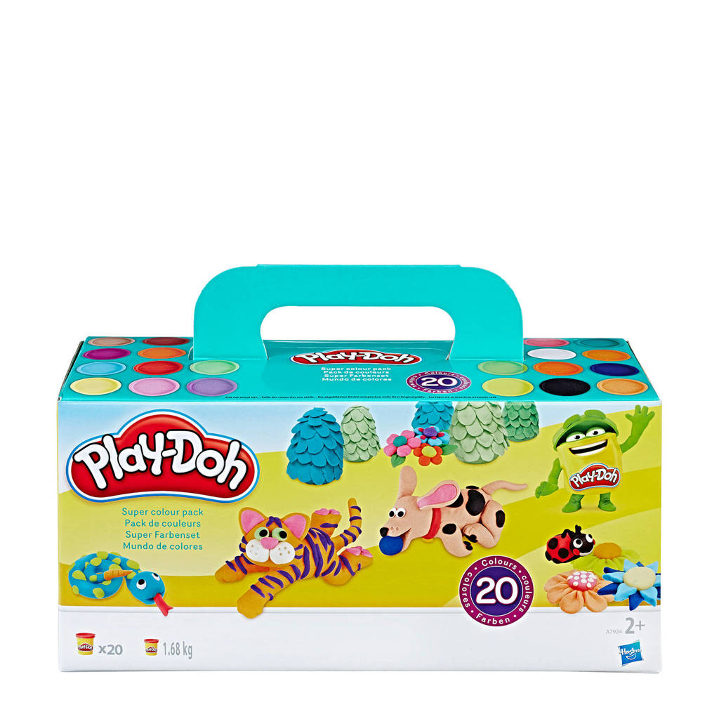 Play-Doh super color pack klei
