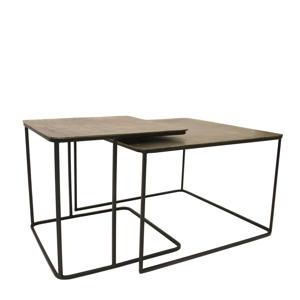 metalen salontafel (set van 2)