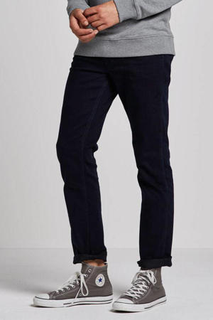 straight fit jeans Greensboro black back