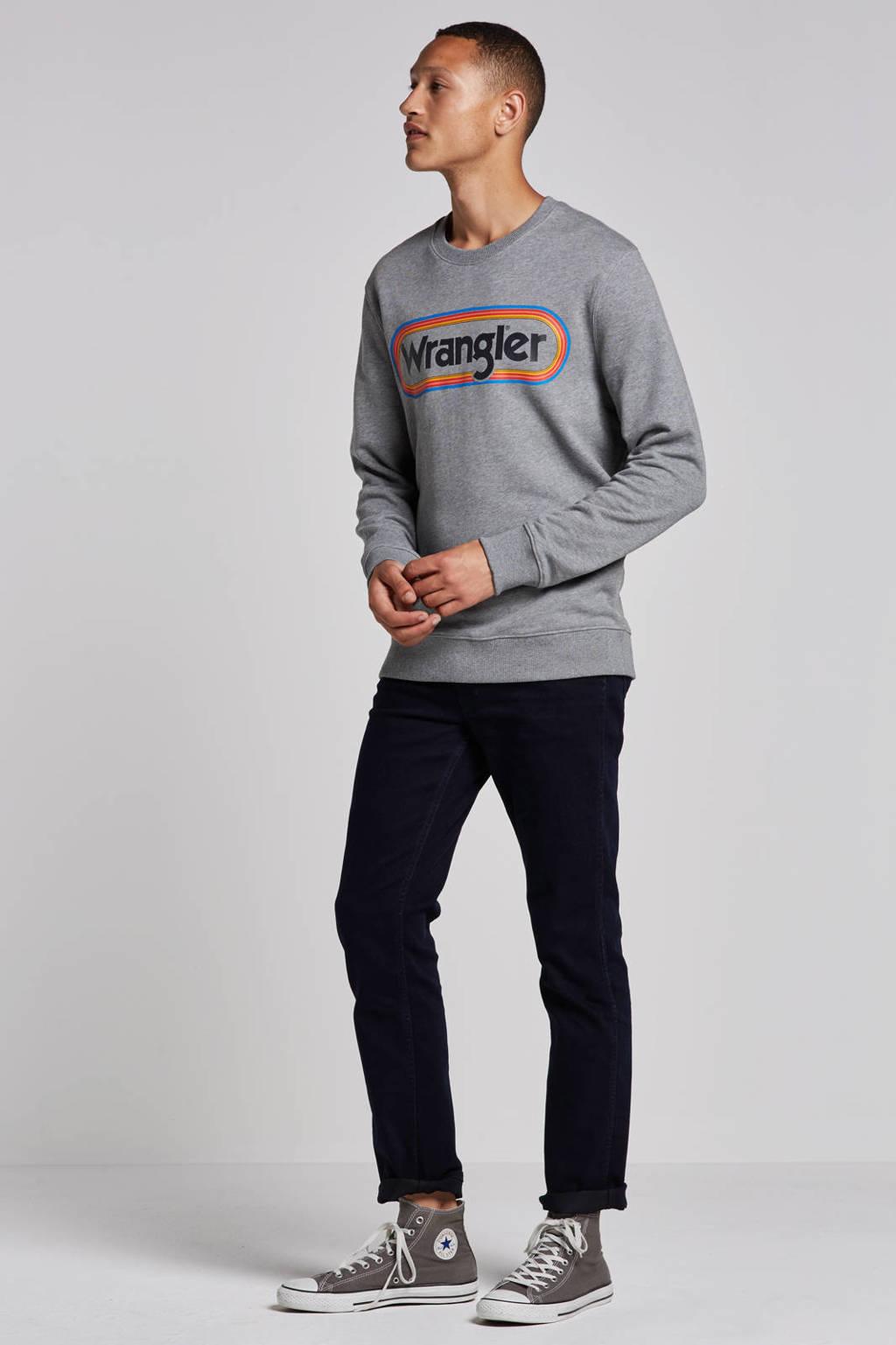 Wrangler Greensboro regular straight fit jeans, Black back