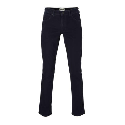 Wrangler straight fit jeans Greensboro black back