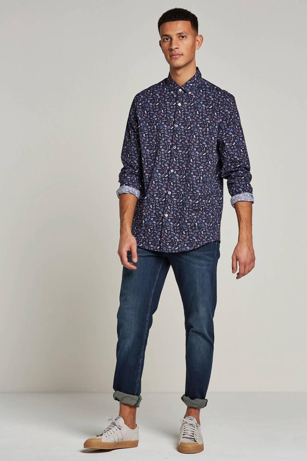 Wrangler Arizona classic straight fit jeans, Blue Stroke