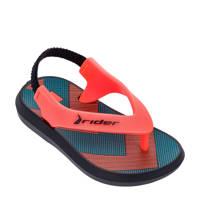 Rider   R1 sandalen rood, Rood/zwart