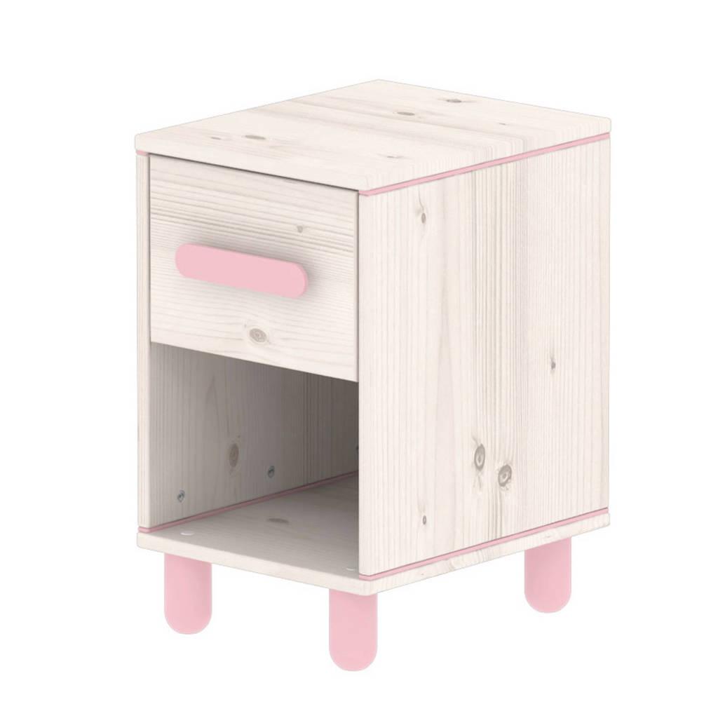 Flexa Nachtkastje Harmony, Hout/ roze