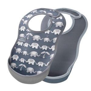 slab grijs olifant - set van 2