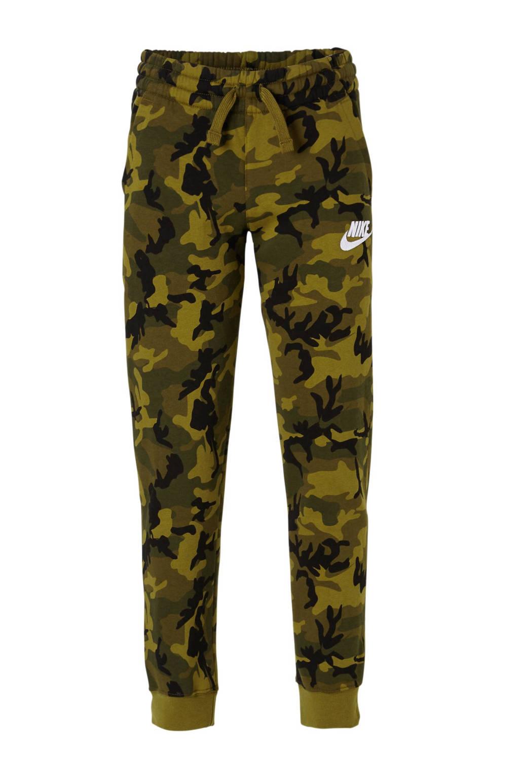 Nike   joggingbroek camouflage groen, Groen