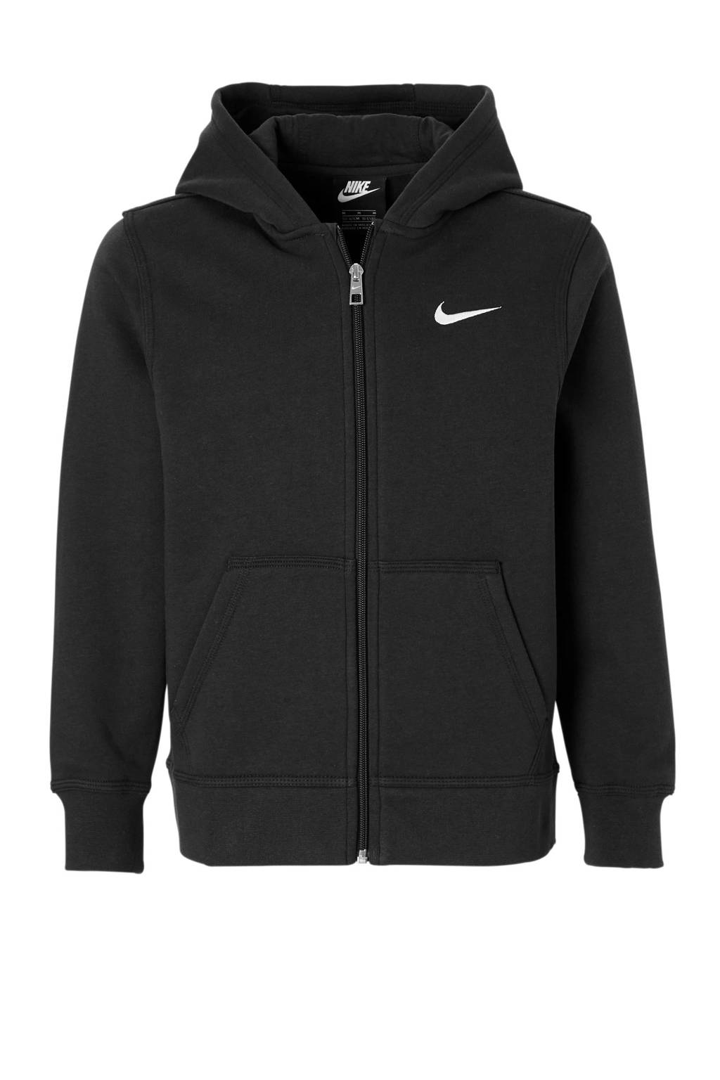 Nike   sweatvest zwart, Zwart