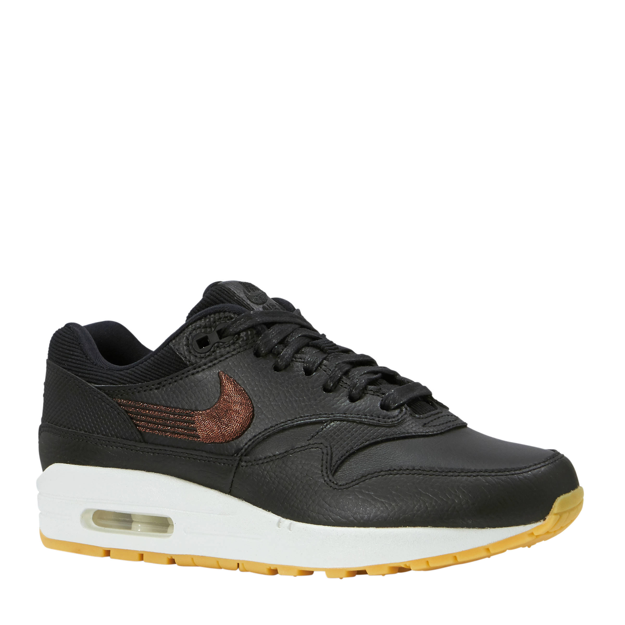 Nike Air Max 1 Premium sneakers beigeoudroze | wehkamp