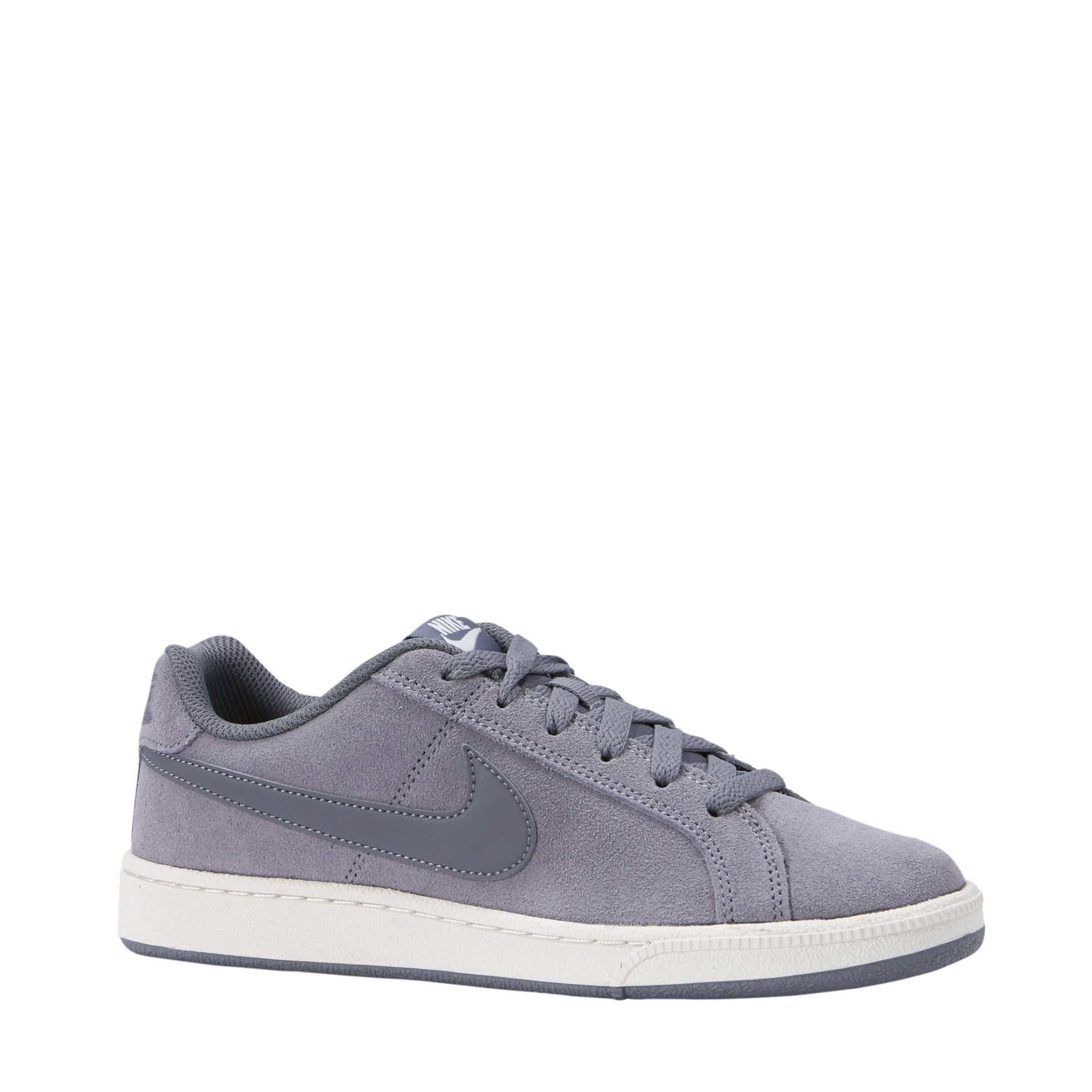 Nike Court Royale suède sneakers grijs