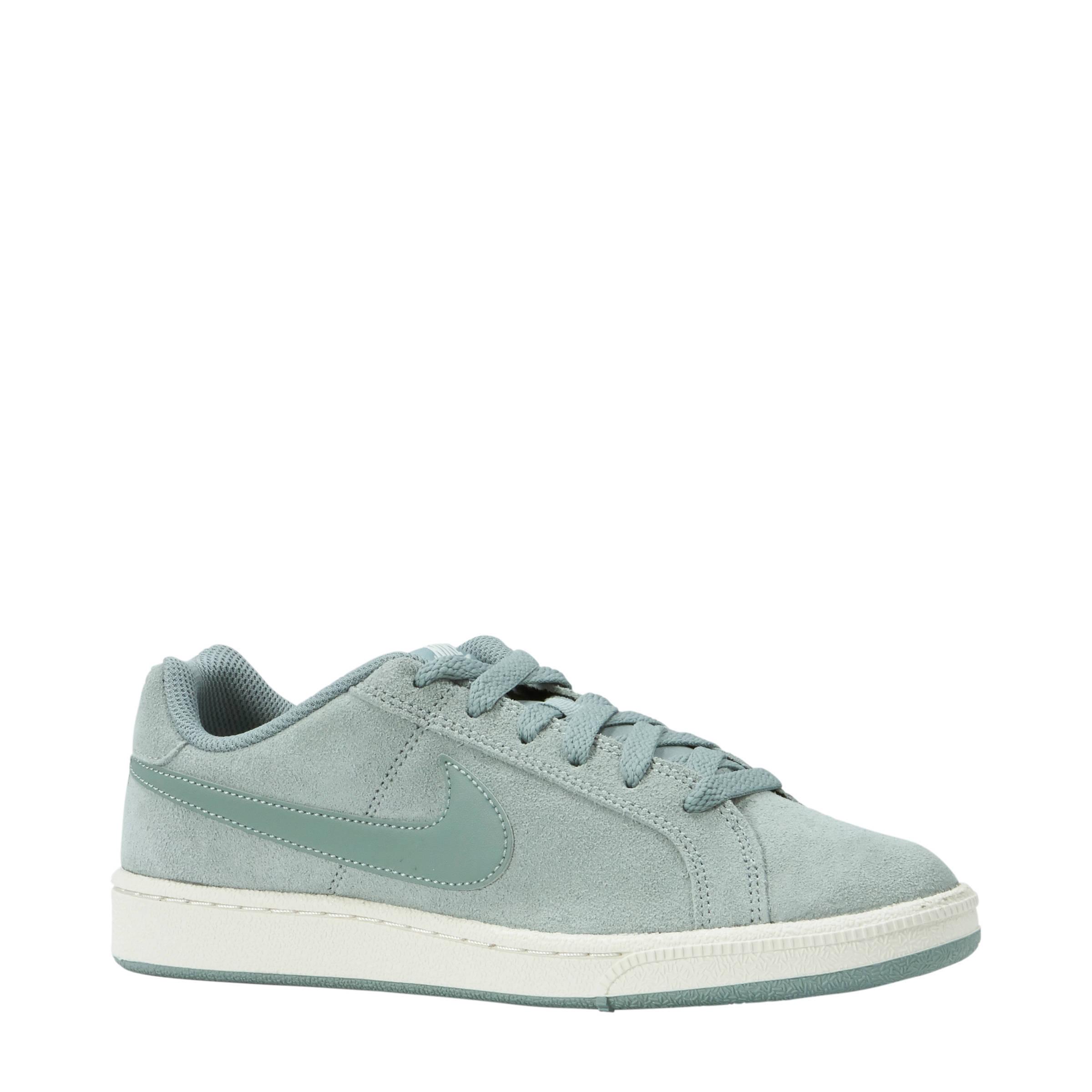 Nike Court Royale suède sneakers mintgroen | wehkamp