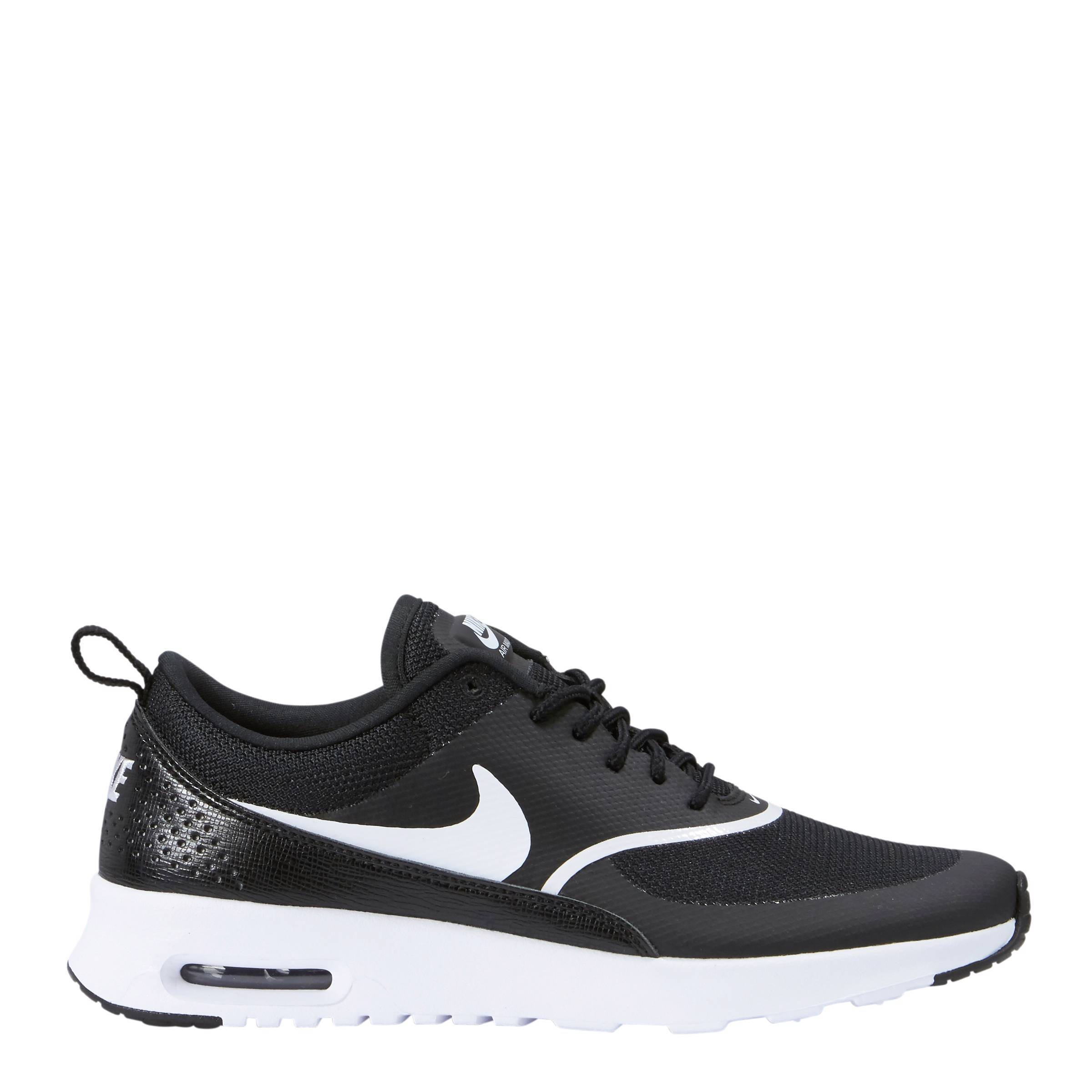 nike air max thea dames zwart wit