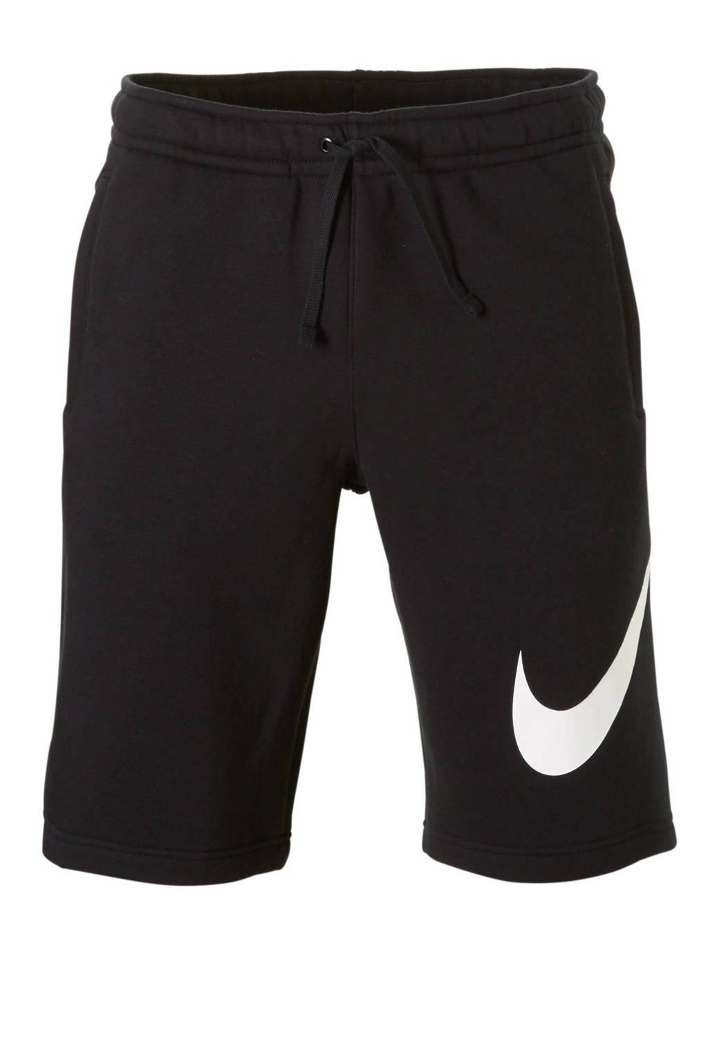 Nike   sweatshort zwart, Zwart