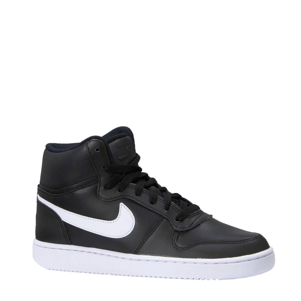 Nike   Ebernon Mid sneakers, Zwart/wit