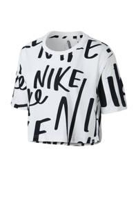 Nike / kort T-shirt wit/zwart