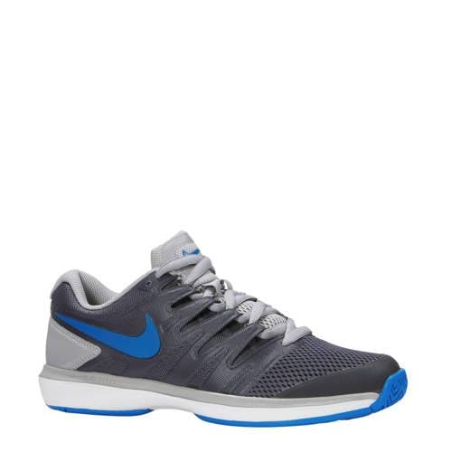 Air Zoom Prestige HC tennisschoenen donkergrijs-blauw