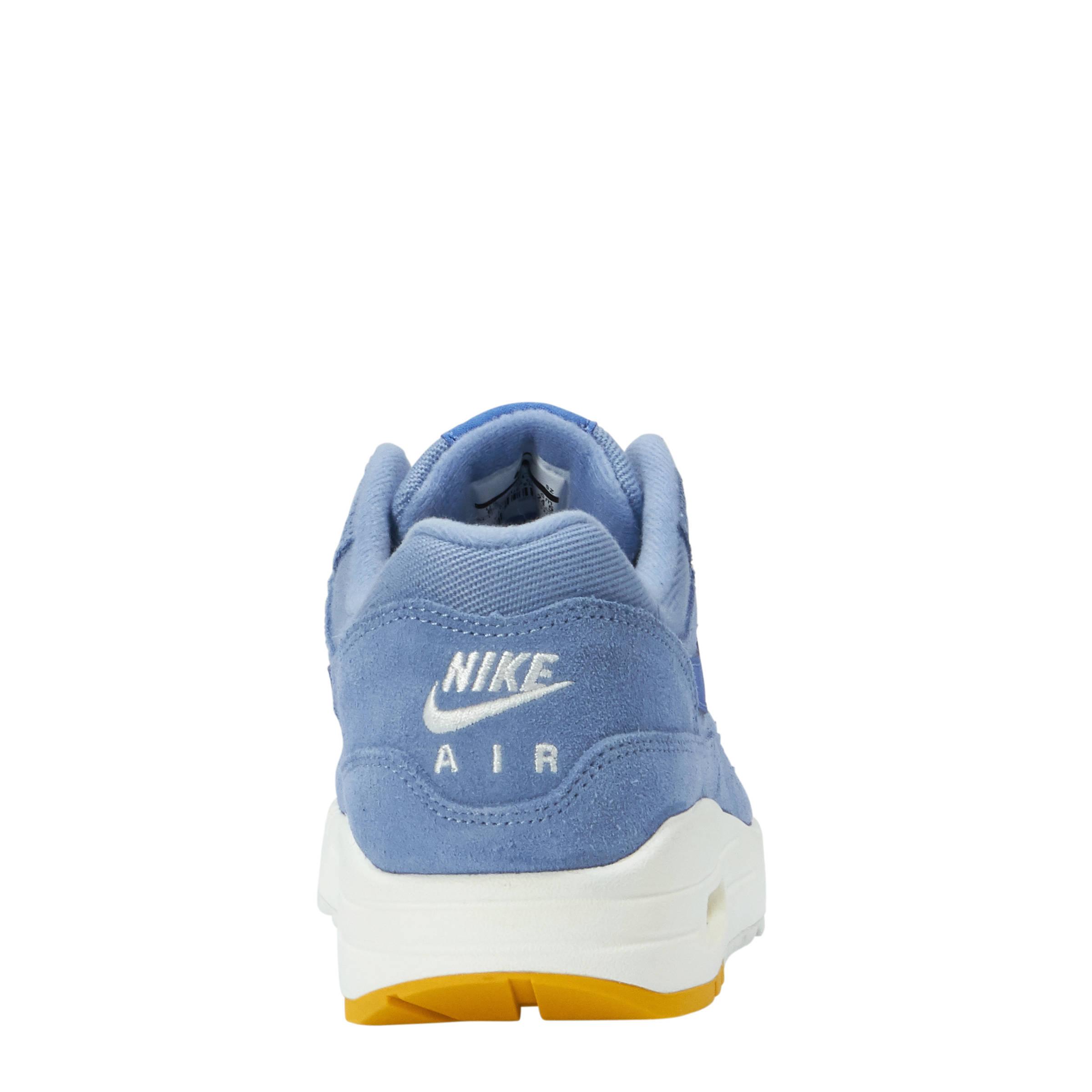 nike air max 1 blauw