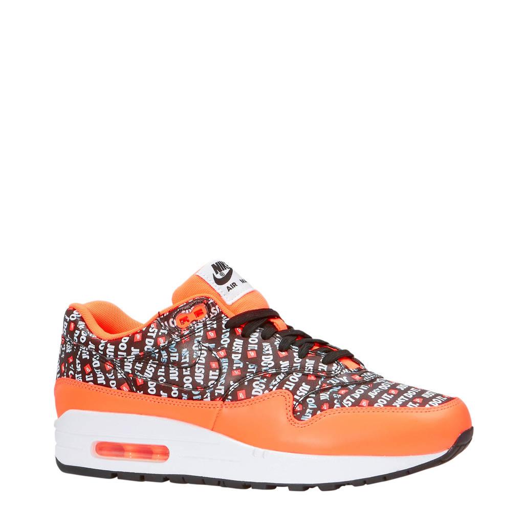11a7e2a69ab Nike Air Max 1 Premium sneakers oranje | wehkamp