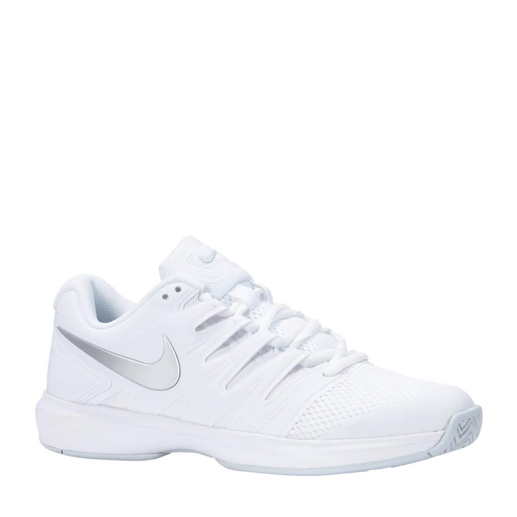 b15f91fff4b Nike Air Zoom Prestige HC tennisschoenen wit, Wit/zilvergrijs