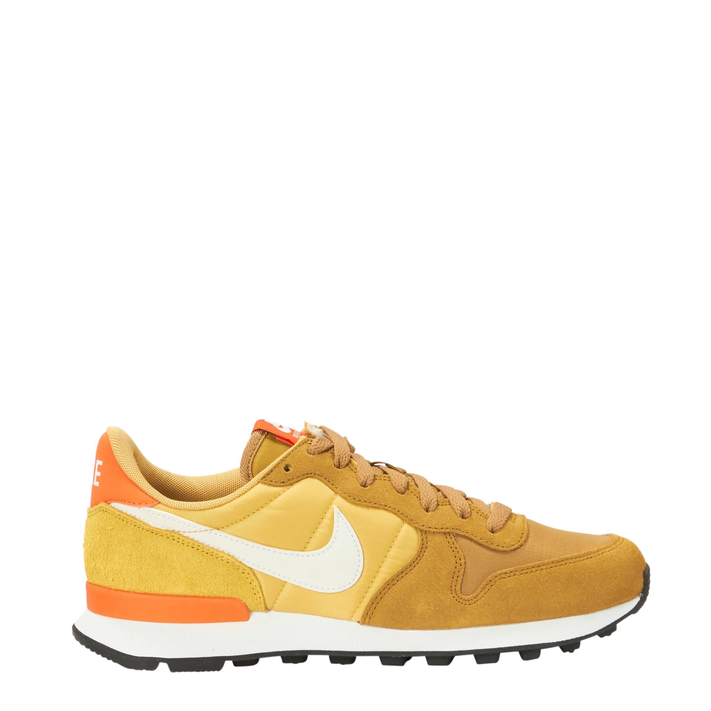 Internationalist sneakers okergeel