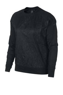 Nike hardloopjack zwart (dames)