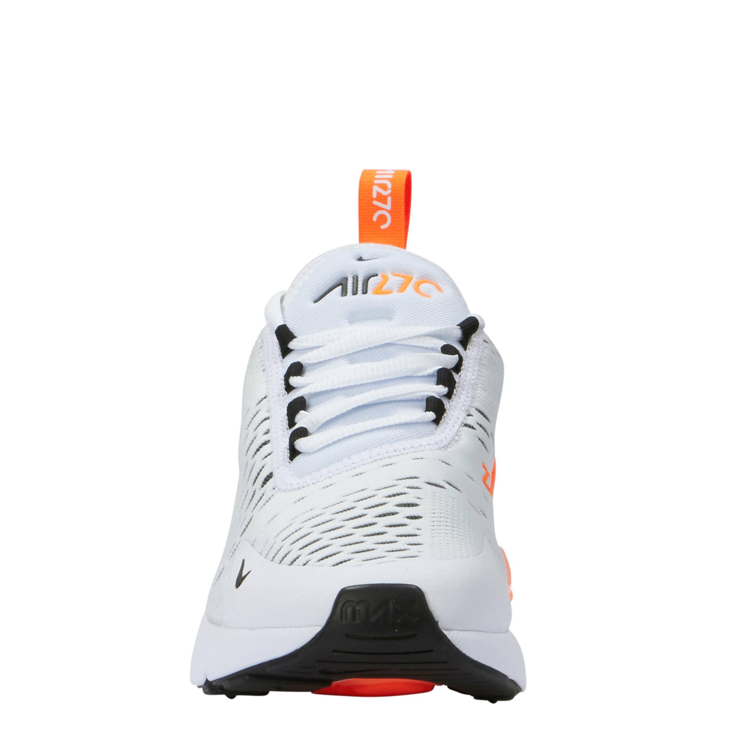 air max 270 wit oranje