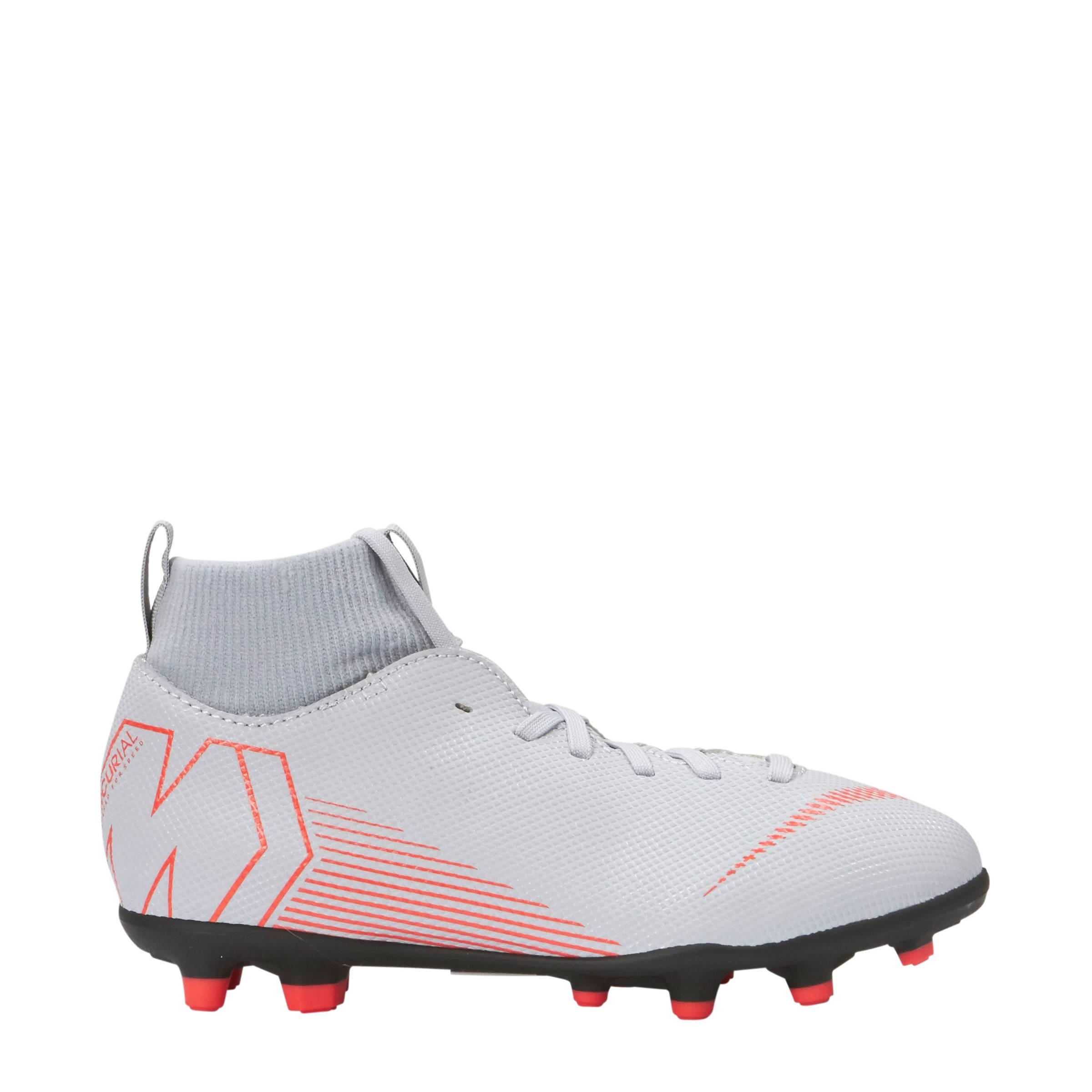 low priced 772b9 4d9df Nike JR Superfly 6 Club FGMG voetbalschoenen grijs  wehkamp